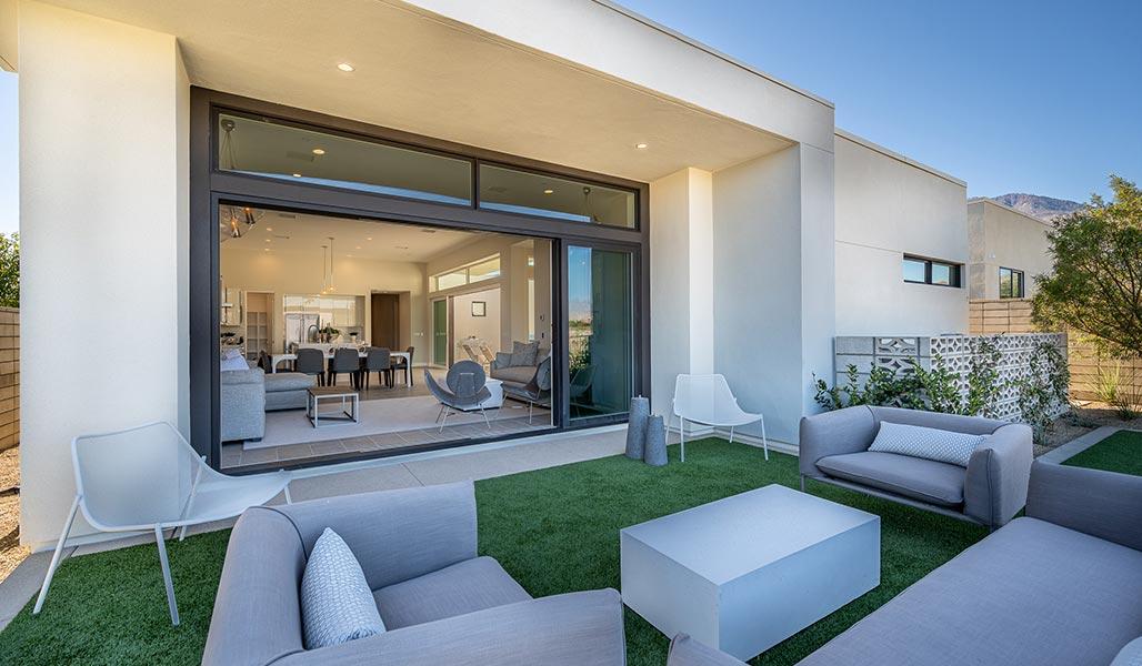 Back yard - Residence 2 - Aura at Miralon