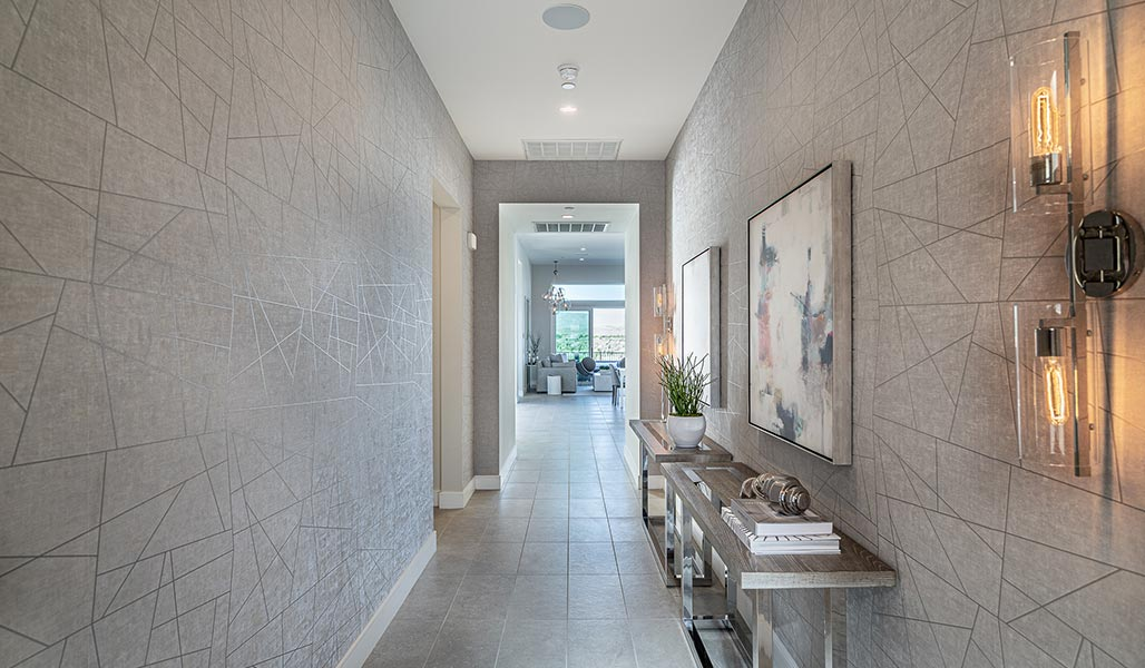 Hallway - Residence 2 - Aura at Miralon