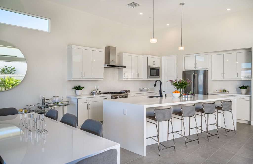 kitchen of residence 2 aura at miralon palm springs